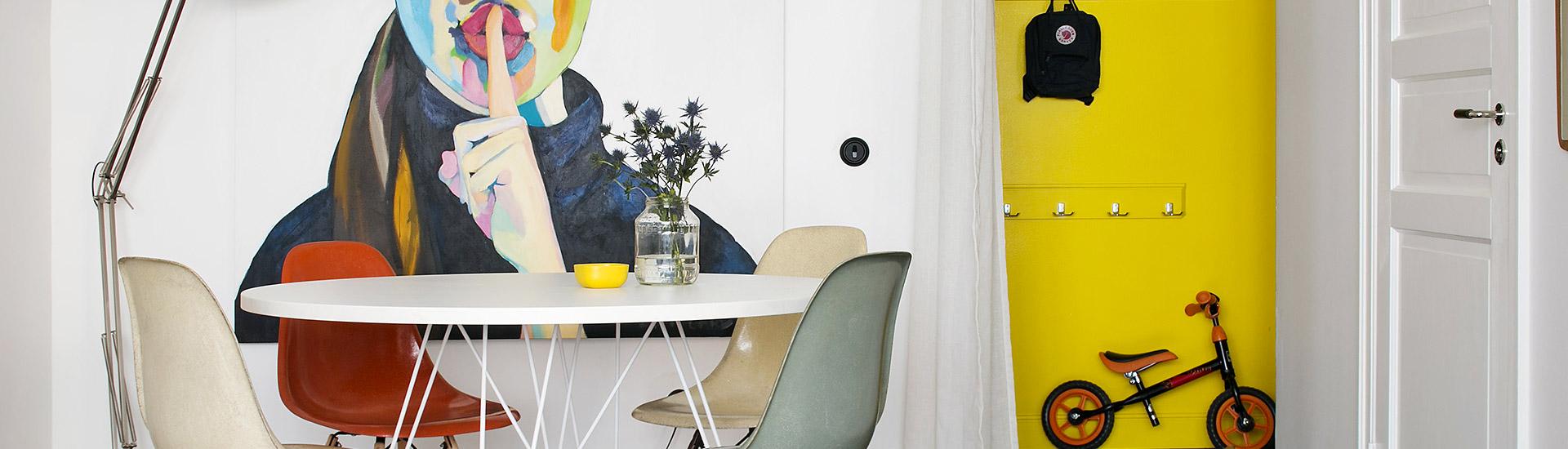 Colorare gli ambienti interni