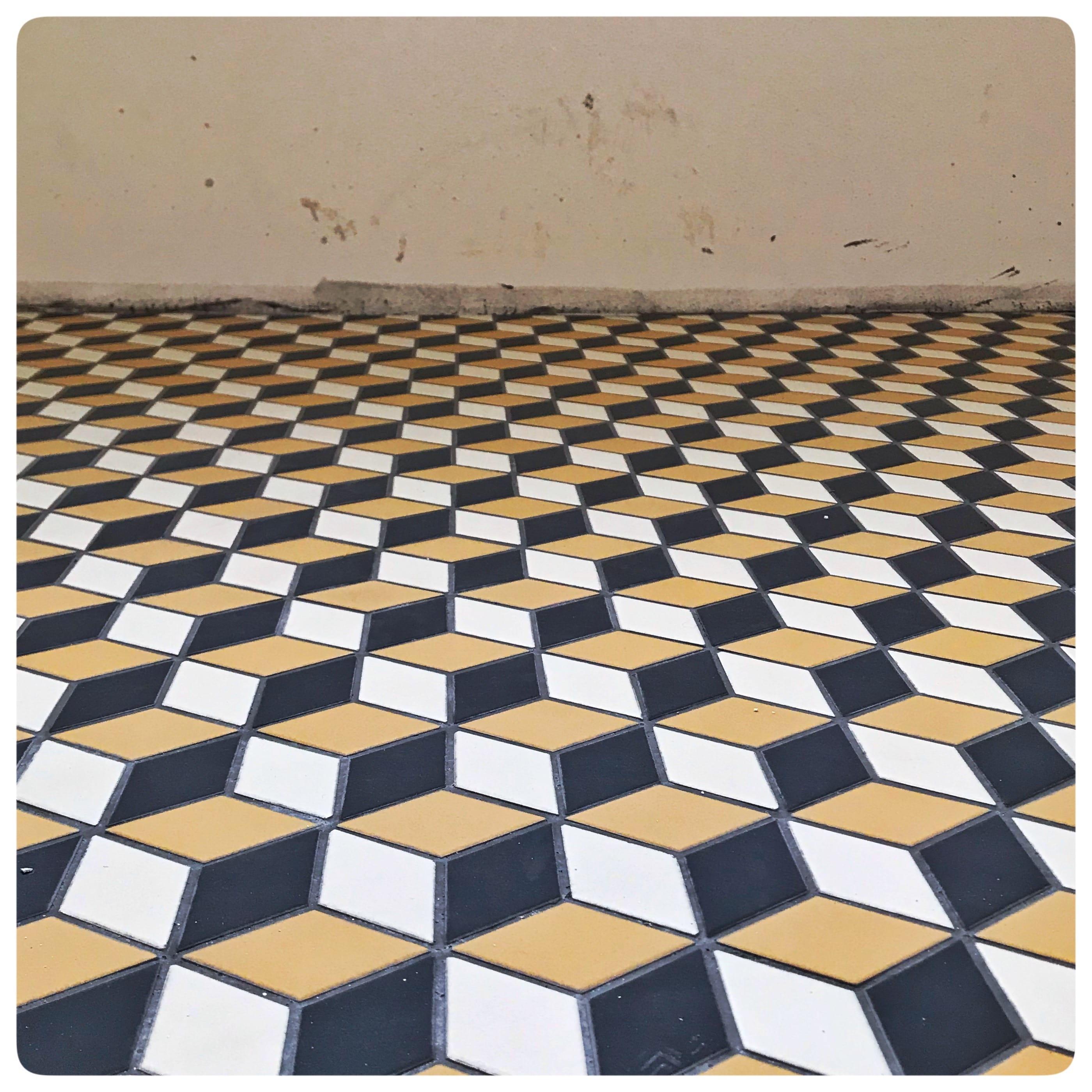 Pavimento realizzato con clementine 3d @etruriadesign